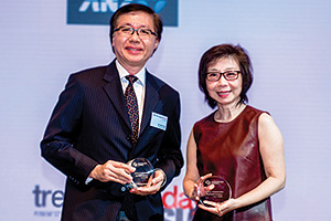 Best SWIFT Solution, Highly Commended Winner – Yew Kin Wah, Singapore Power and So Lay Hua, United Overseas Bank.