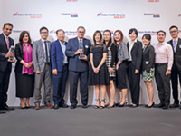 Adam Smith Awards Asia Top Treasury Team 2017
