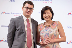 Woman of the Year 2017, Highly Commended Winner – James Hayward and Florence Tan, M+W Group.