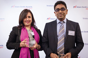Best Card Solution, Highly Commended Winner – Swati Mitra, Citi and Rabijan A. Rahim, Petronas.