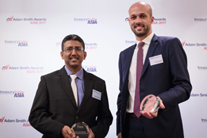 Best Supply Chain Finance Solution, Highly Commended Winner – Sooria Narayanan, Flex and Thomas Aubry, Citi.
