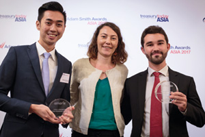 First Class Relationship Management, Highly Commended Winner – Malcolm Ow Yong, BNP Paribas, Magali Drevet and Jérôme Ruchaud, Amaris.
