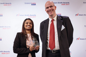 Harnessing the Power of Technology, Overall Winner – Dhatchayani Ramanathan and Gary Gray, AIA Group.