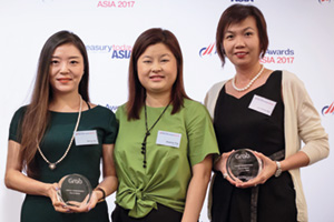 One to Watch, Highly Commended Winner – Vanessa Goh, DBS, Wendy Sun and Angeline Ting, Grab Singapore and Lim Shiang Wen, DBS.