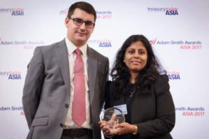 A Rising Star, Highly Commended Winner – James Hayward and Ruchi Agrawal, Sandoz Private Limited.