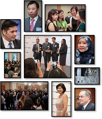 Adam Smith Awards Asia 2016 achievement montage