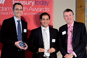 Global Liquidity Management, Highly Commended – Claus Pahlke (Deutsche Bank), Ouisem Samoud and Richard Parkinson.