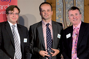 Effective Enterprise Risk Management, Highly Commended – Ulf Gedamke (Commerzbank), Friedrich Floto and Richard Parkinson.