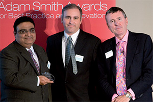 Bright SOX award for good corporate governance, Highly Commended – Dharmendra Varma, Philip Pettinato (Reval) and Richard Parkinson.