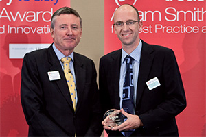 Best Corporate Debt Solution, Highly Commended – Photo of Richard Parkinson and Tim Allison.