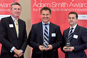 Harnessing the Power of Technology, Winner – Photo of Richard Parkinson, Marco Schuchmann and Julian Giliberti, Citi.