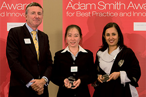Treasury Today in China, Highly Commended – Photo of Richard Parkinson, Linlin Wu and Swati Mitra, Citi.