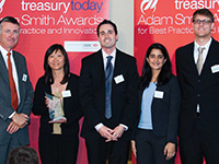 Adam Smith Awards Top Treasury Team 2010