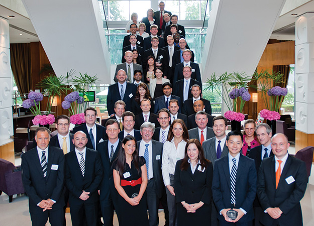 Adam Smith Awards 2010 winners group photo