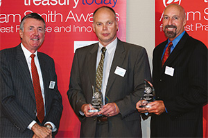 Bank Relationship Management, Winner – Richard Parkinson, Stefan Jaskulak and Corrie Bowman, Wells Fargo.