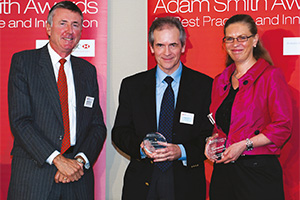 Global Liquidity Management, Highly Commended – Richard Parkinson, Hervé Corré and Anita Diriwaechter, RBS.