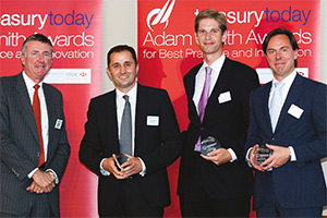 Global Liquidity Management, Highly Commended – Richard Parkinson, Mustafa Kiliç, Ferry Veerman, Bank Mendes Gans and Cefas van den Tol, ING.