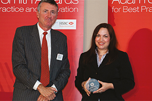 Effective Risk Management, Highly Commended – Richard Parkinson and Cristina Tate.
