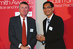 Effective Risk Management, Highly Commended – Richard Parkinson and Chen Seong Joon.