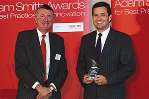 Harnessing the Power of Technology, Winner – Richard Parkinson and Daniel Workinger.