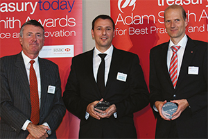 Best SEPA Solution, Highly Commended – Richard Parkinson, Daniel Ochsner and Gerhard Bystricky, UniCredit.