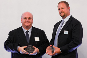 Treasury Today's Top Treasury Team, Highly Commended – Robin Terry, HSBC and Peter van Rood.