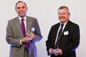 Bank Relationship Management, Highly Commended – Gordon Jolly and Steve Hall, J.P. Morgan.