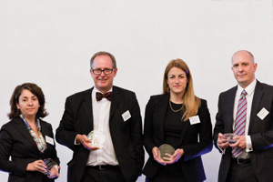 Bank Relationship Management, Highly Commended – Ebru Pakcan, Citi, Peter Lay, Inci Yalman, Standard Chartered and Matt Prior, HSBC.
