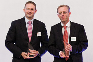 Global Liquidity Management, Winner – Mark Tweedie, Citi and Conor Leyden.
