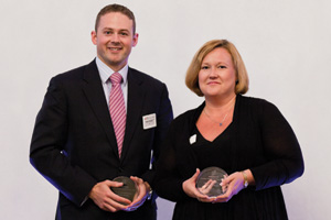 Best Card Solution, Highly Commended – Mark Tweedie, Citi and Virpi Salomonsson.
