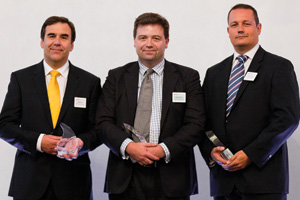 Harnessing the Power of Technology, Winner – David Soan, BELLIN, Edward Collis and Mike Rayfield, Lloyds Banking Group.
