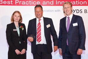 First Class Bank Relationship Management, Highly Commended – Eleanor Hill, Treasury Today, Klaas Springer and Sander van Tol, Zanders.