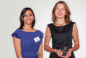 First Class Bank Relationship Management, Highly Commended – Zainab Devaswala and Julia Persson.