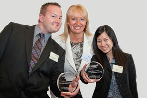 Best Cash Management Solution, Highly Commended – Jim Scurlock, Barbara Harrison, Citi and Sunnie Ho.