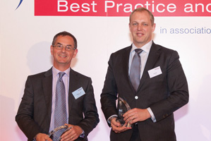 Best Financial Supply Chain Solution, Winner – Andrew Leach and Bart Ras, Citi.