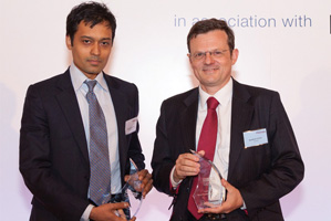 Best Financing Solution, Winner – Rajiv Mareachealee, Crédit Agricole and Baudouin Courau.