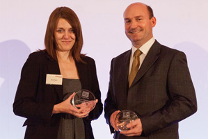 Best Process Re-engineering Solution, Highly Commended – Karen Fagan and Richard Martin, Barclays.
