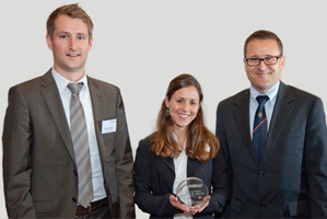 Best Process Re-engineering Solution, Highly Commended – Sven Matzelsberger, Joana von Krüger and Peter Schädelbauer.