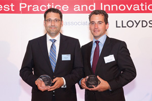 One to Watch, Highly Commended – Jörg Bermüller and Thomas Eberle, Deutsche Bank.