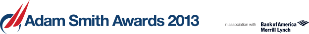 Treasury Today Adam Smith Awards 2013 in association with Bank of America Merrill Lynch