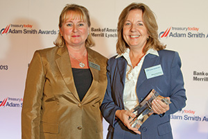 Treasury Today Woman of the year, Winner – Angela Berry and Maeve Robinson, Omnicom Group.