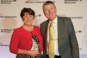 Lifetime Achievement Award, Winner – Patricia Greenfield, AstraZeneca and Richard Parkinson.