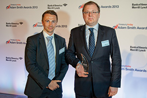 Best Short-Term Investment Strategy, Winner – Ben Street and Michal Kawski, Gazprom Marketing & Trading.