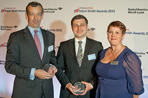 Best Financial Supply Chain Solution, Highly Commended – Thomas Dunn, Orbian, Wadim Buettner, Osram and Joy Macknight.