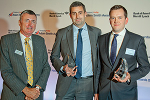 Best Card Solution, Winner – Richard Parkinson, Steven Elms, Citi and David Swainston, Procter & Gamble.