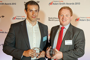 Best Risk Management Solution, Highly Commended – Dimitris Papathanasiou, Coca-Cola HBC and Peter Reynolds, Reval.