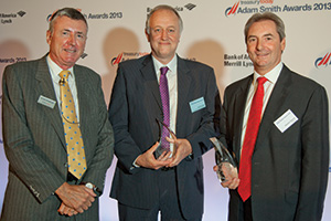 One to Watch, Winner – Richard Parkinson, Lewis Jones, The Automobile Association and Maurice Cleaves, Barclays.