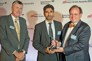 Best in Class Benchmarking, Winner – Richard Parkinson, Onkar Liddar and Scott Ahlstrom from Accenture.