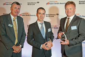 Best Foreign Exchange Solution, Winner – Richard Parkinson, Cormac Donohoe, Citi and Stuart Kirk, Xerox.