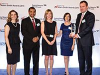 Adam Smith Awards Top Treasury Team 2014